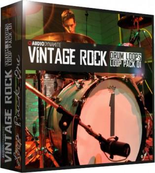 Vintage Rock Drum Loops - Pack 1