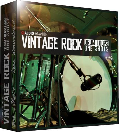 Vintage Rock Drum Loops - One Shots