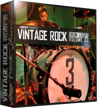 Vintage Rock Drum Loops - Pack 3