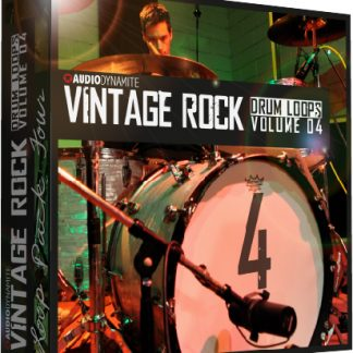 Vintage Rock Drum Loops - Pack 4
