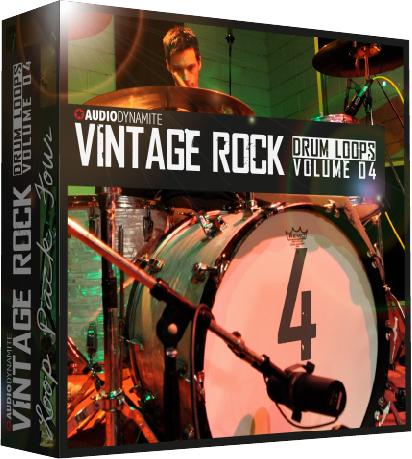 Vintage Rock Drum Loops – Pack 04