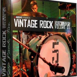 Vintage Rock Drum Loops - Pack 5