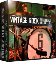 Vintage Rock Drum Loops - Pack 6