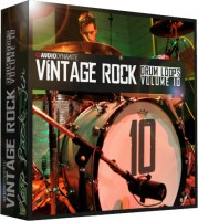 Vintage Rock Drum Loops - Pack 10