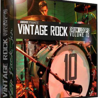 Vintage Rock Drum Loops - Pack 10