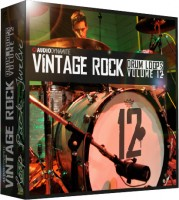 Vintage Rock Drum Loops - Pack 12