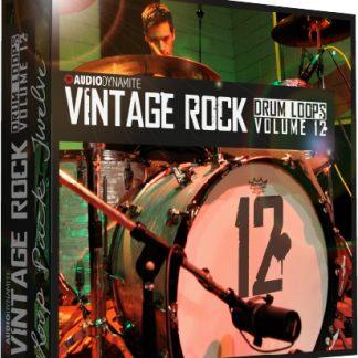 Vintage Rock Drum Loops - Pack 12