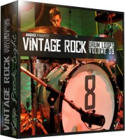 Vintage Rock Drum Loops - Pack 8