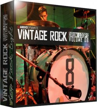 Vintage Rock Drum Loops - Pack 8