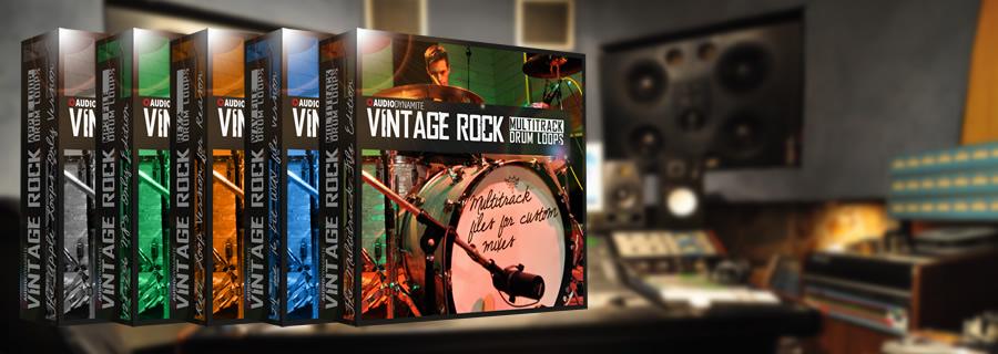 Vintage Drums Banner
